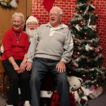 Seniors having fun, christmas party, retirement home, longview wa, longview washington, assisted living