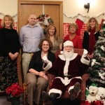Law office staff who donated to seniors in need