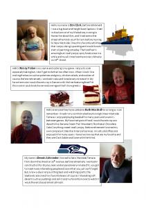 new residents, senior news, senior entertainment, senior events, senior living, assisted living
