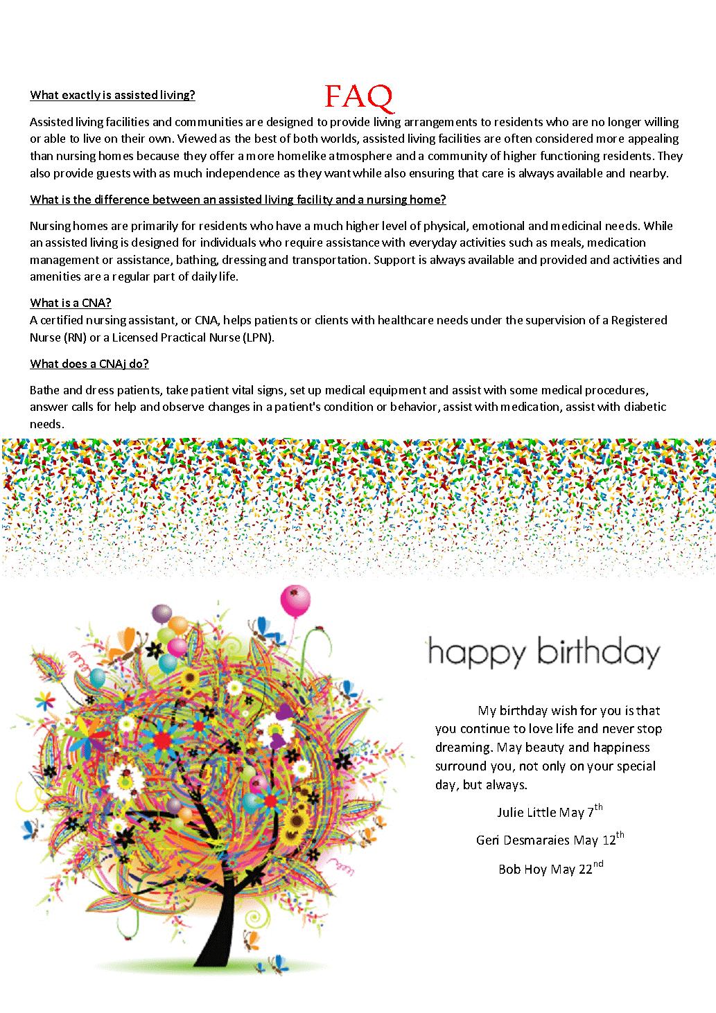 May FAQ Page 3